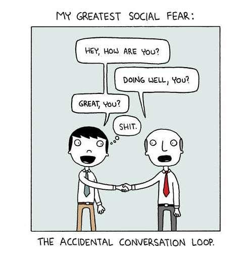 Social fear - meme