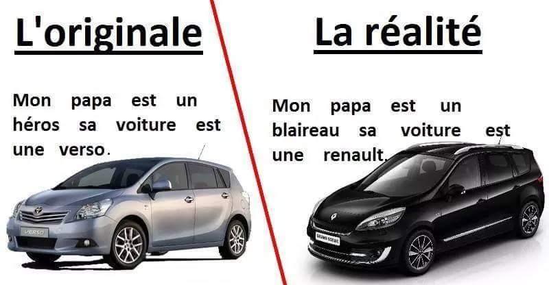 Changeons de Renault. Ou nous reparterons à vélo. - meme