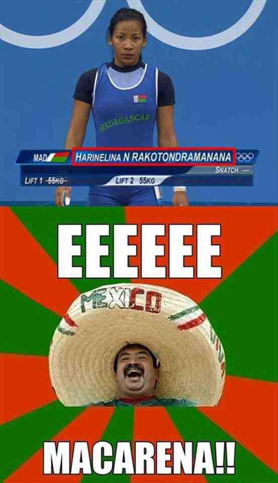 Eeee Macarena - meme