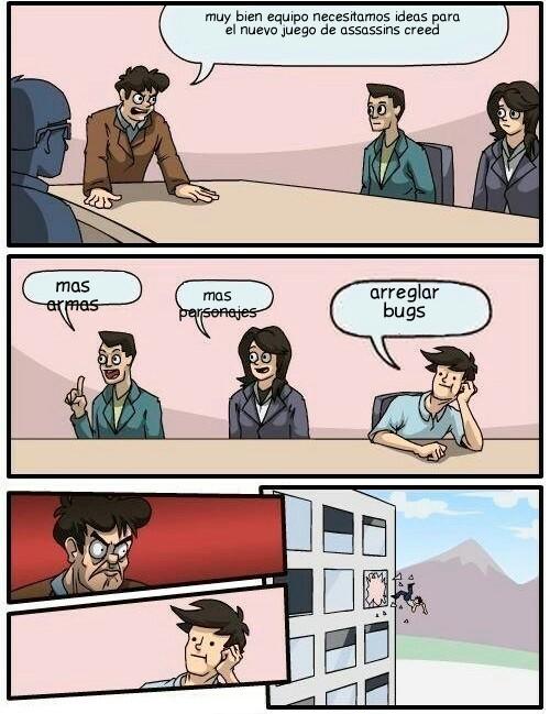 Putos de ubisoft - meme