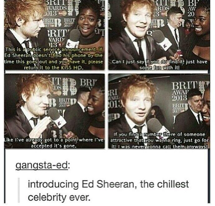 Ed sheeran - meme