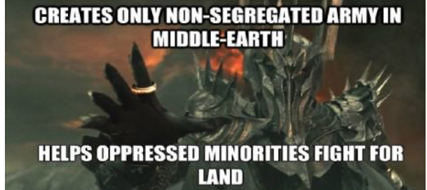 Good guy sauron - meme