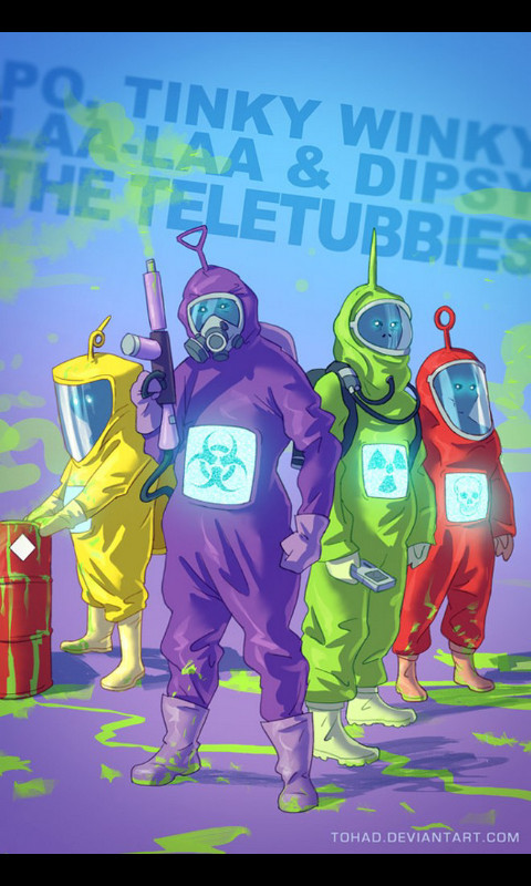 Teletubbies... - meme