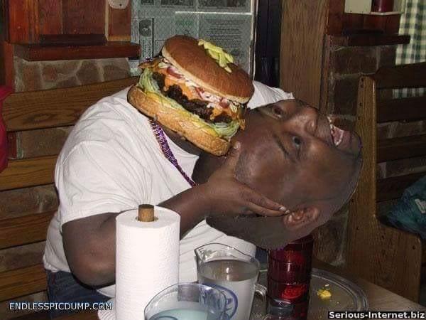burgers is peeplz - meme