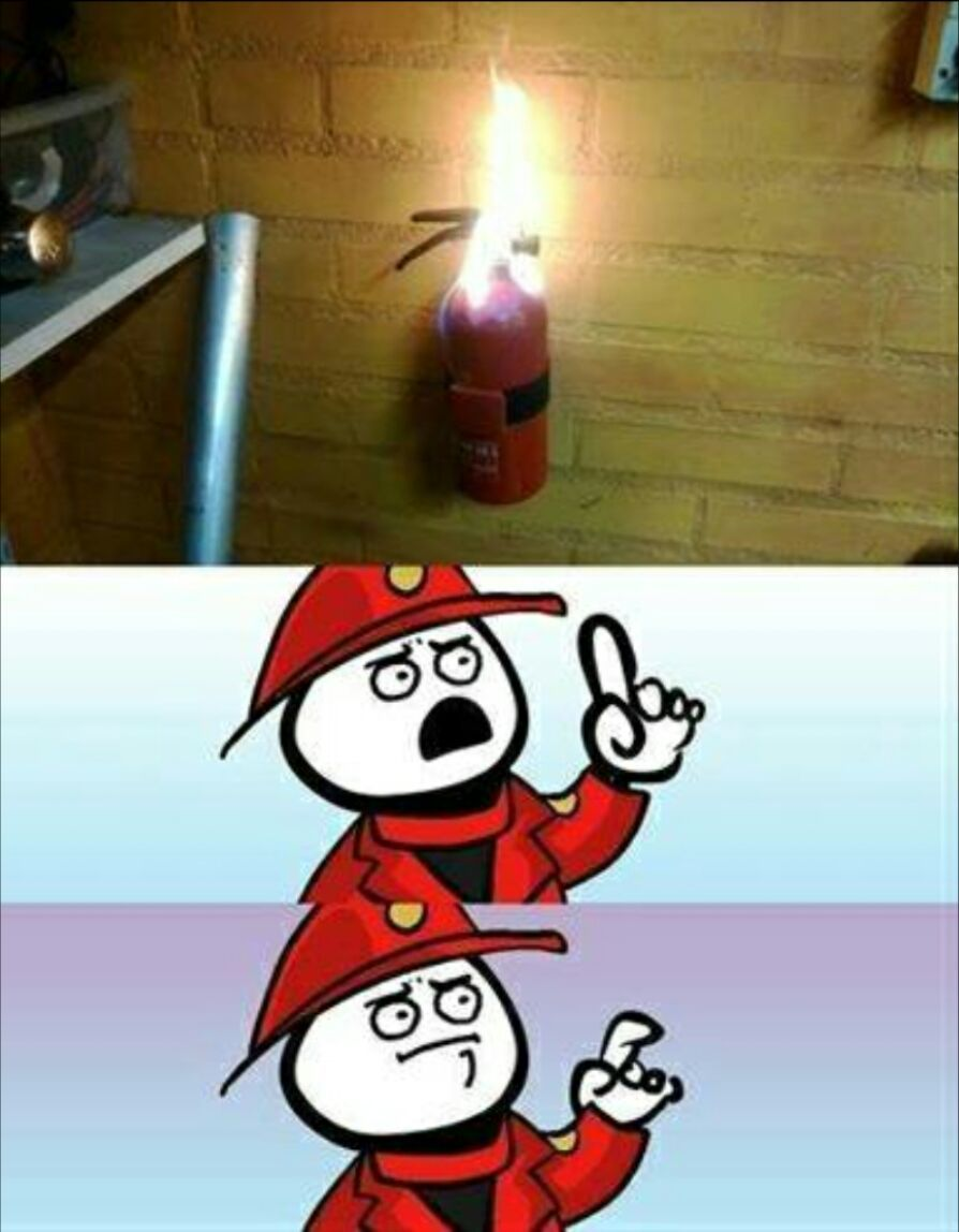 Fire Extinguisher Meme
