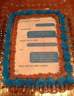 Title went to eat cake. - meme