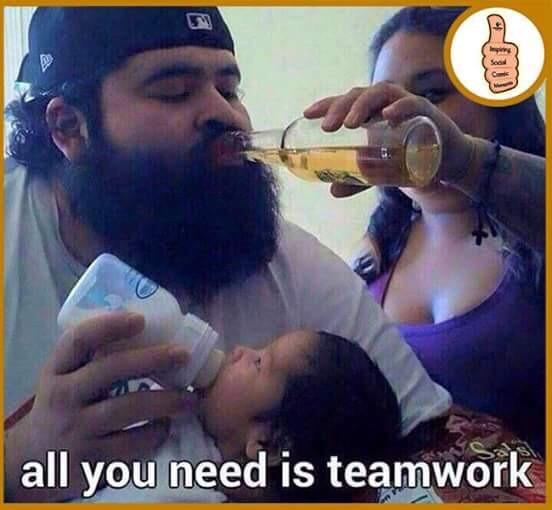 Teamwork - meme