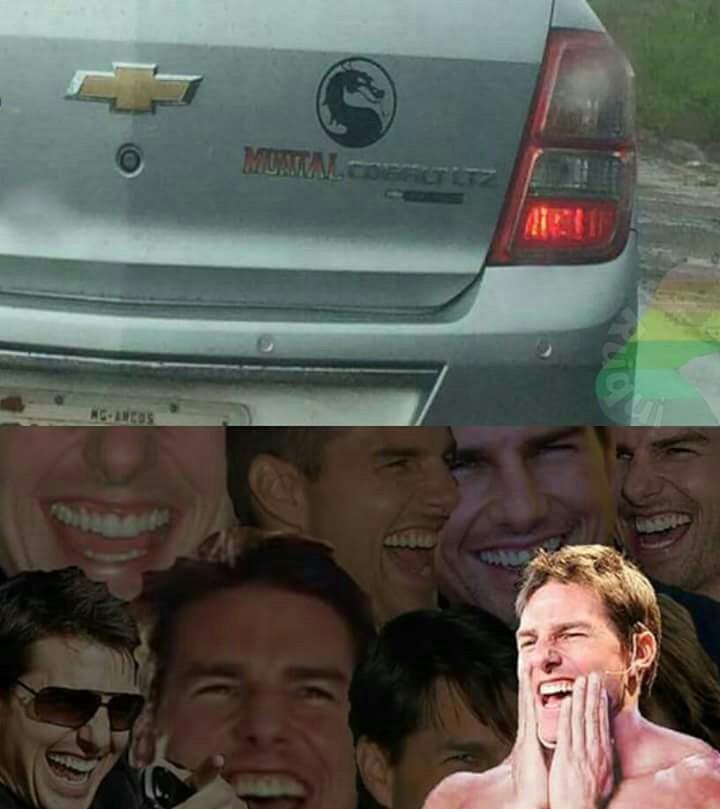 MORTAL COLBAT - meme