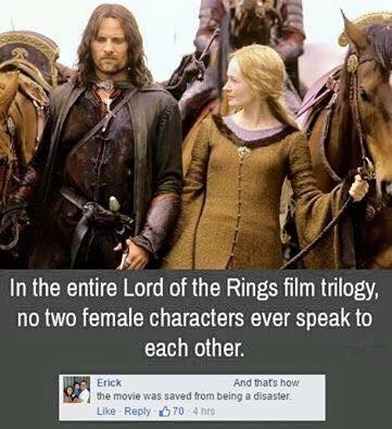 unlike the Hobbit... funking Tauriel - meme