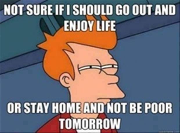 College problems - meme