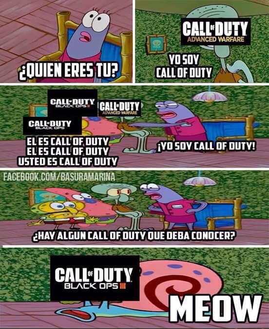 Call of duty everiwhere - meme