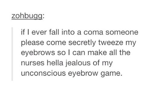 Eyebrow game - meme
