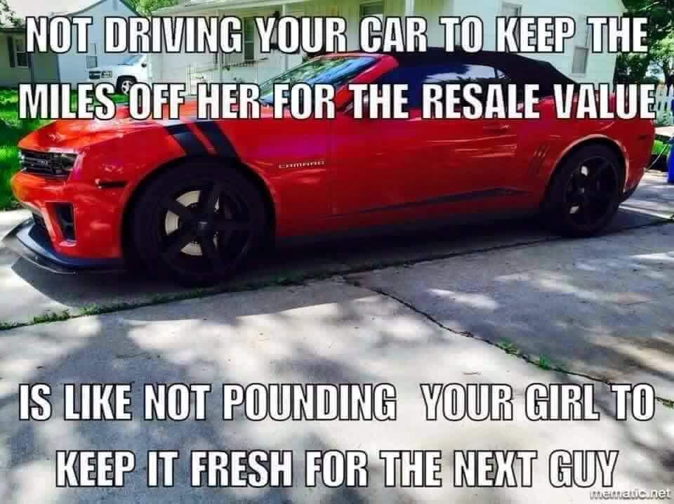 Every corvette ever.. - meme