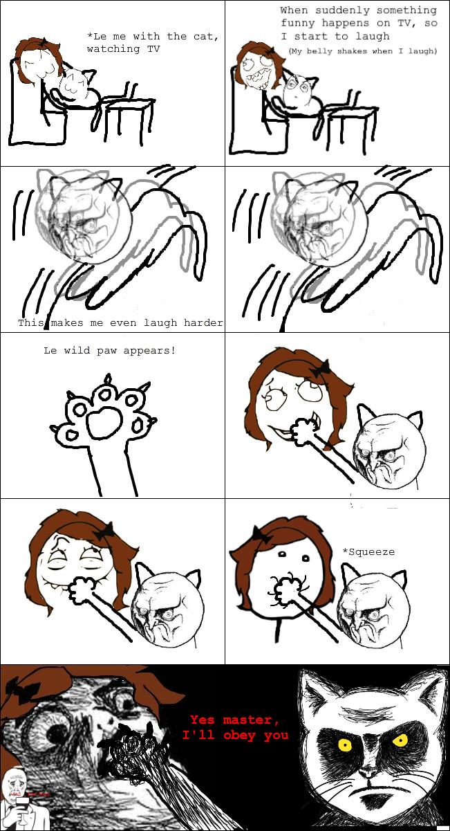 Le cate! - meme