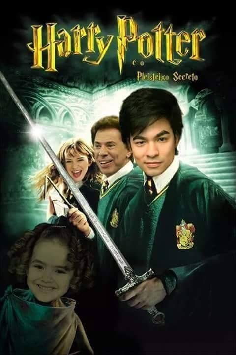 Harry Potter e o pleisteixo filosofal - meme