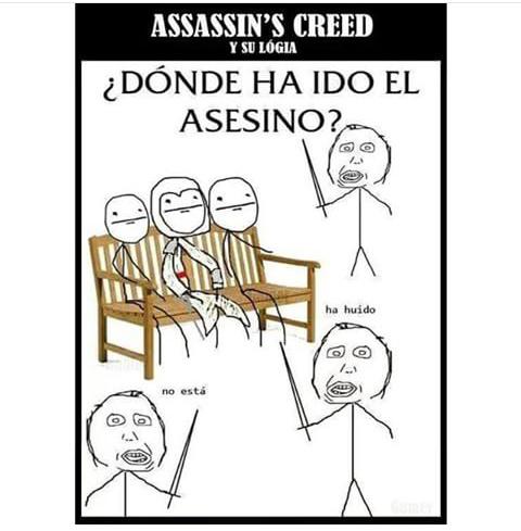 Assassin`s creed - meme