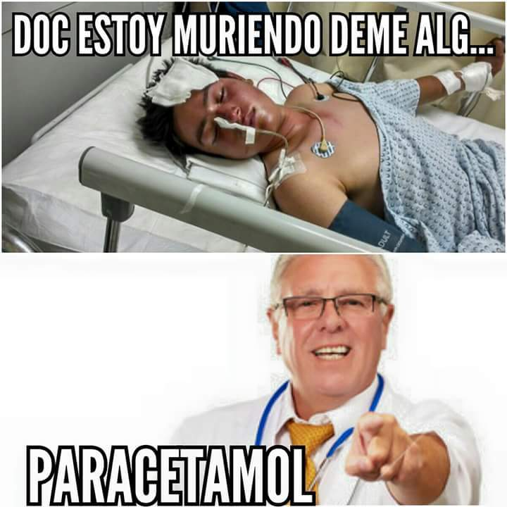 Paracetamol :v - meme