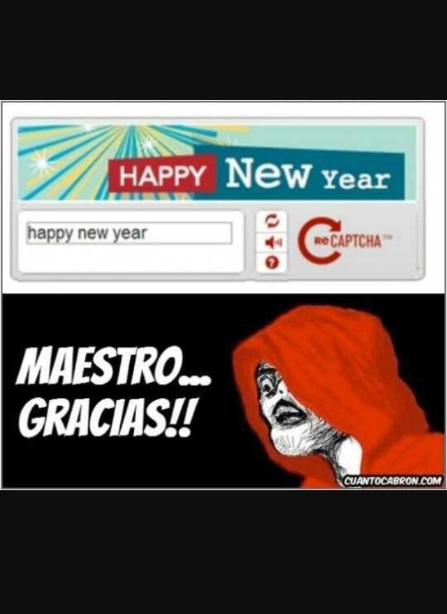 feliz año nuevo - meme