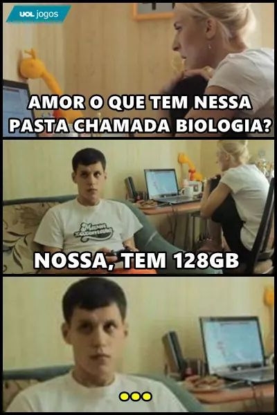 Apenas biologia - meme