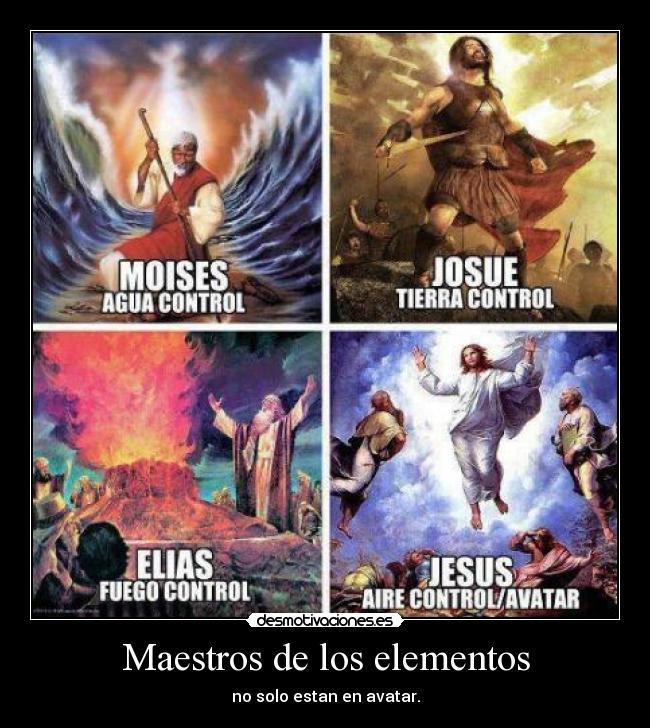 Avatar según la biblia - meme