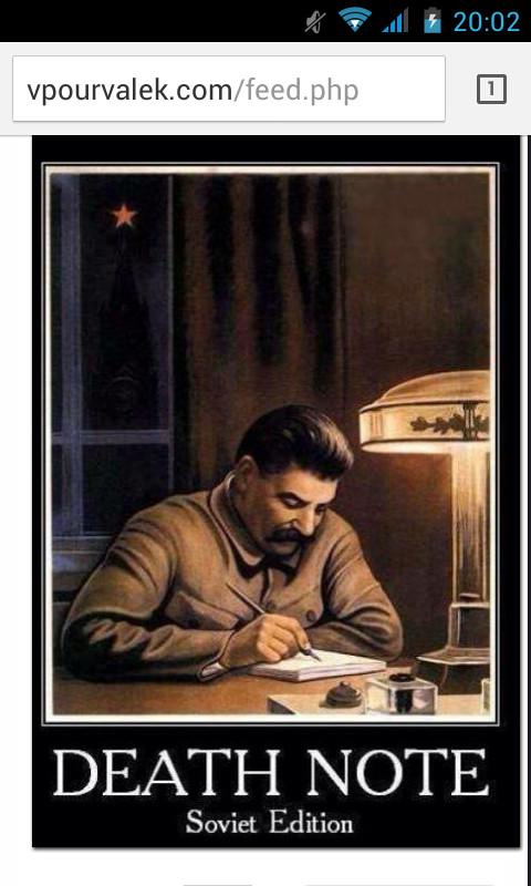Death note Soviet edition - meme