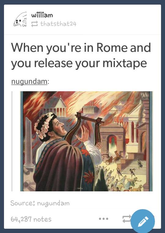 Rome - meme