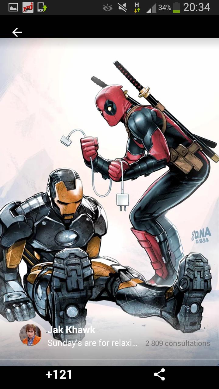 Deadpool... - meme