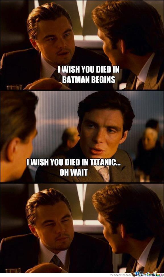Poor Leonardo - meme
