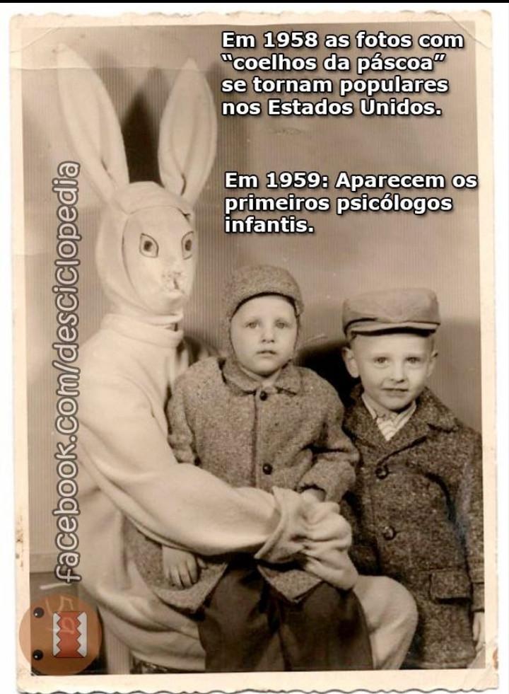 Que coelho bizarro - meme