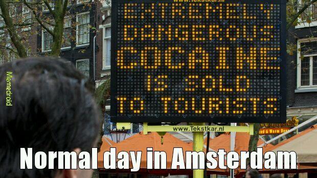 Amsterdam - meme