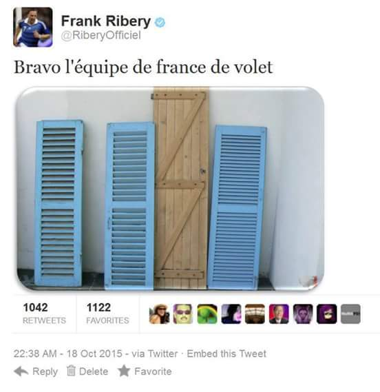 Sacré Ribéry - meme