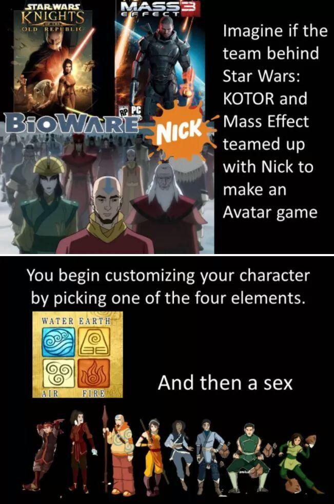 I love avatars - meme