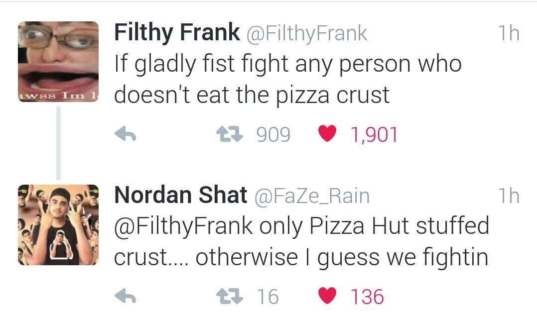 FaZe clan fight filthy confirmed... jk - meme