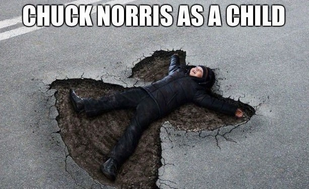 Chuk norris is awesome - meme