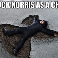 Chuk norris is awesome