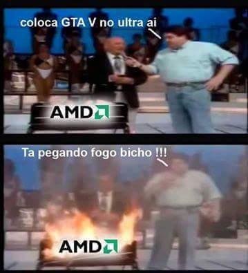 Porra AMD - meme