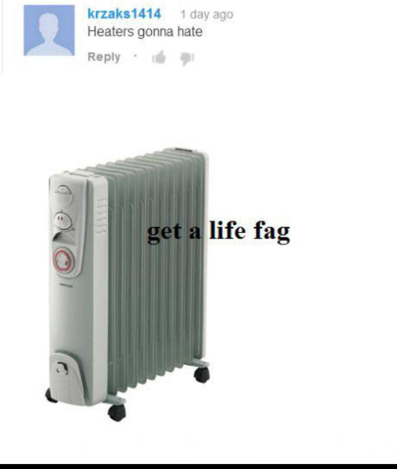 Forever a heater - meme