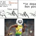 I'm Usain Bolt
