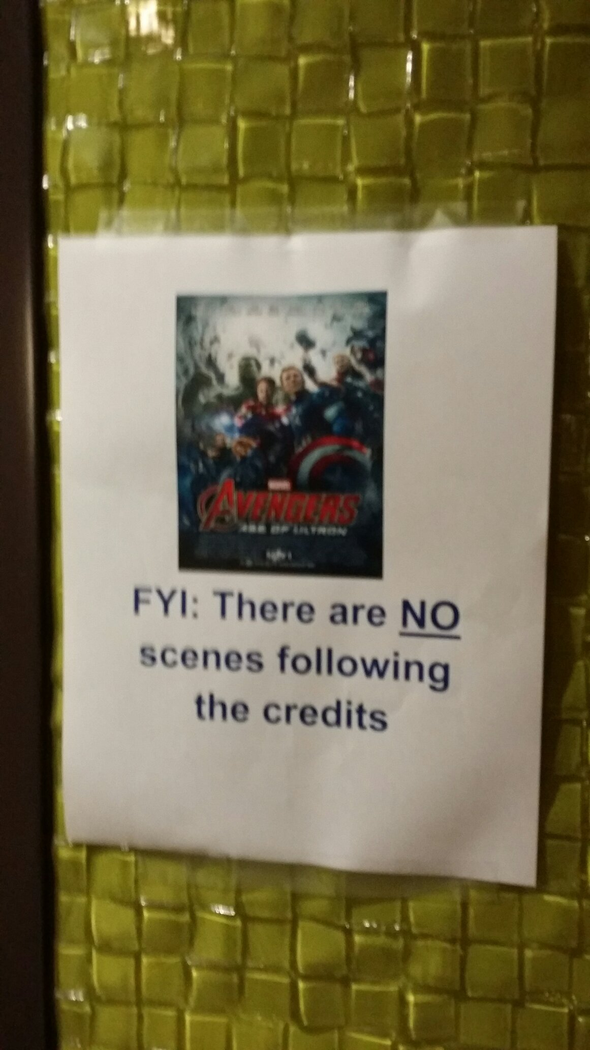 Before watching the Avengers - meme