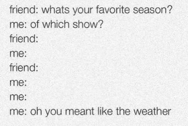 Season - meme