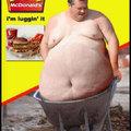 Mc gordo feliz