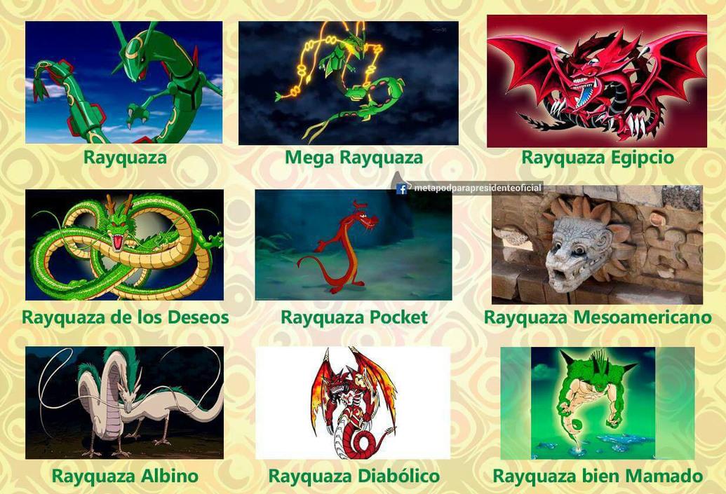 Rayquaza - meme