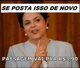 Ouviram a Dilmãe!! - meme