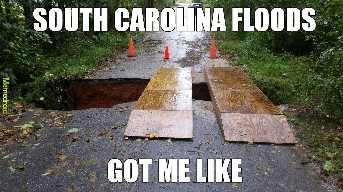 Anyone else in SC? - meme