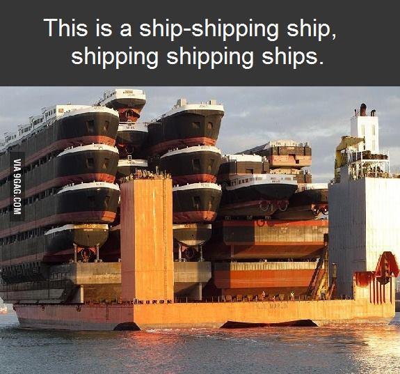 Un bateau qui porte des bateaux ! - meme