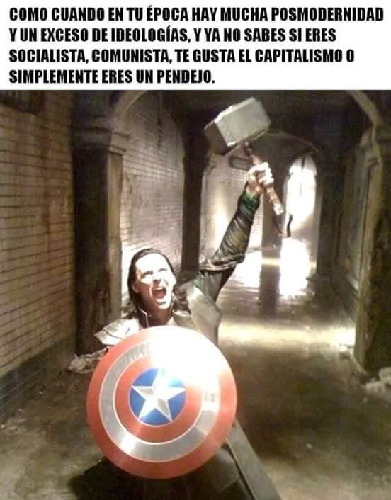 Ese Loki es un loquillo - meme