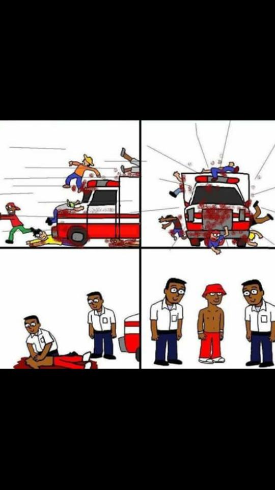 Ambulance dans GTA - meme