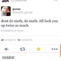 3rd comment is a goose