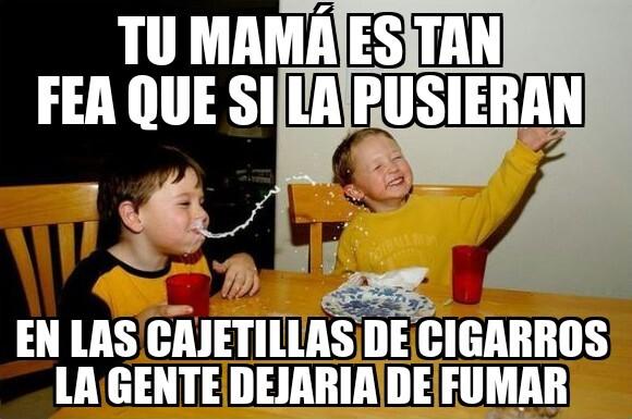 El titulo dejo de fumar - meme
