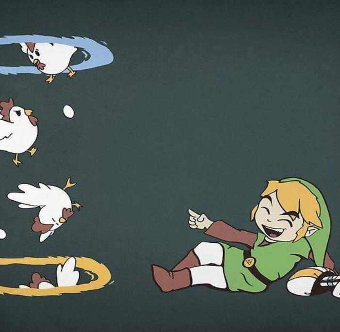 Portal + The Legend of Zelda = ? - meme